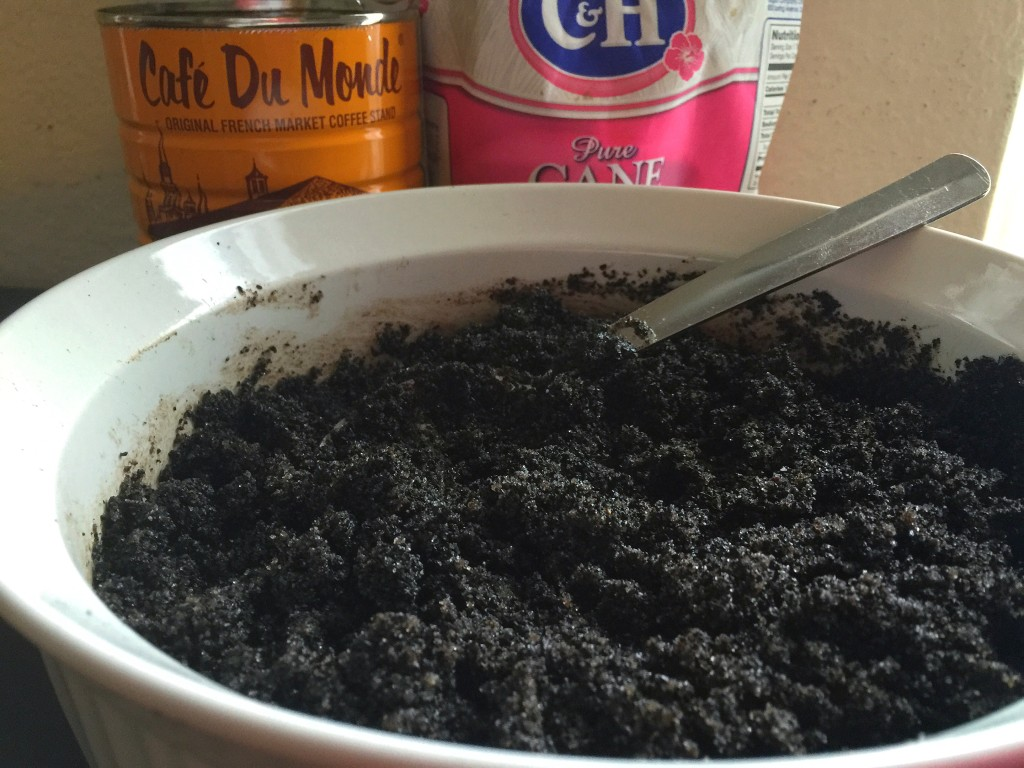 Chicory Coffee Sugar Scrub - Mix