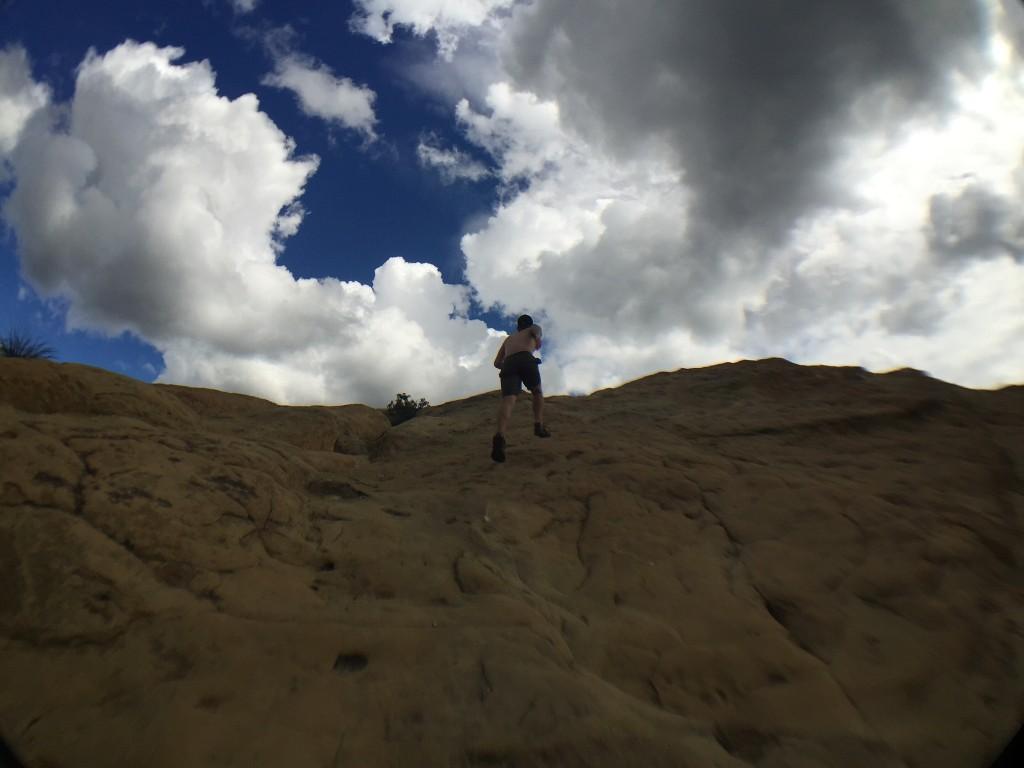 Topanga State Park - Eagle Rock  - Running