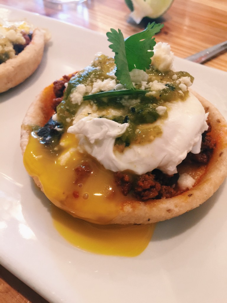 Home - Bean Chorizo Eggs Benedict 2