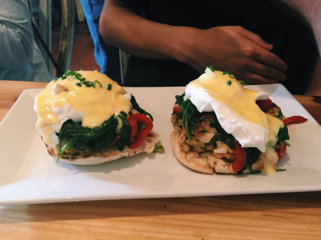 Home - Salmon Eggs Benedict