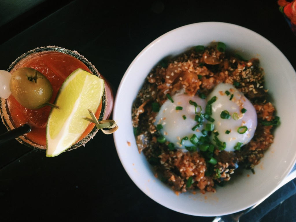 Republique - Bloody Mary Kimchi Fried Rice